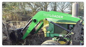 TOP LOADERS pour tracteur JOHN DEERE JD820 à JD1040